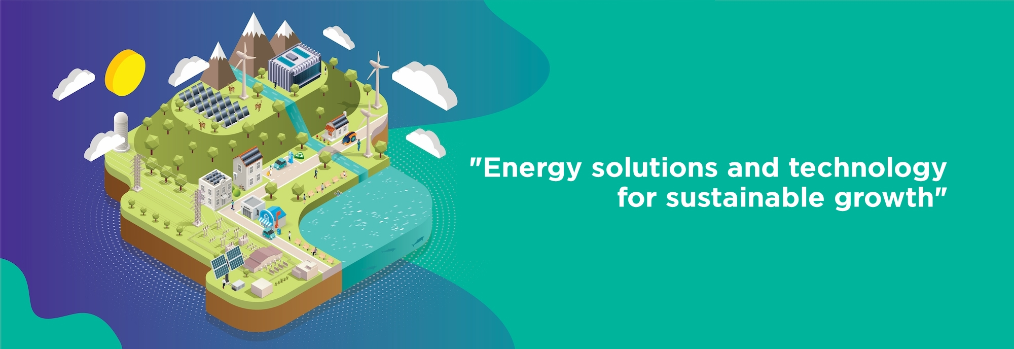 Energy solutions and technology for sustainable growth